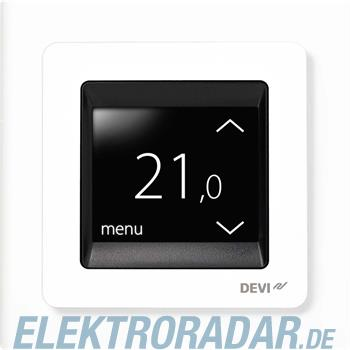 Devi Uhren-Thermostat UP devireg Touch m.Rahm