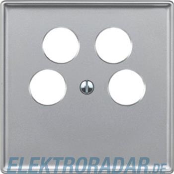 Merten Zentralplatte alu 464260