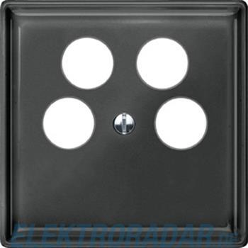 Merten Zentralplatte sw/gr 464269
