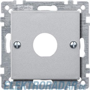 Merten Zentralplatte alu 468760