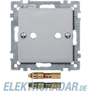 Merten Zentralplatte alu 469360
