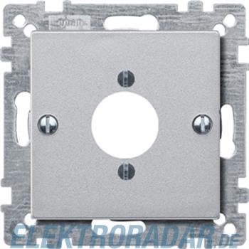 Merten Zentralplatte alu 469460