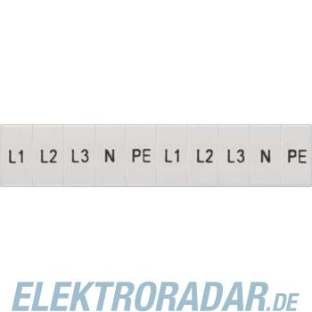 Siemens Schilder L1, L2, L3, PE, N 8WH8120-2AA15