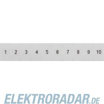 Siemens Schilder, Längs 1-10 Gr.ZB 8WH8120-3AB05