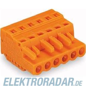 WAGO Kontakttechnik Federleiste gerade 5,08 mm 231-316/026-000