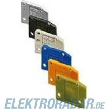 WAGO Kontakttechnik Abschlussplatte orange 235-600