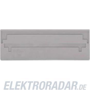 WAGO Kontakttechnik 3-Leiter-FV-Trennwand grau 282-309