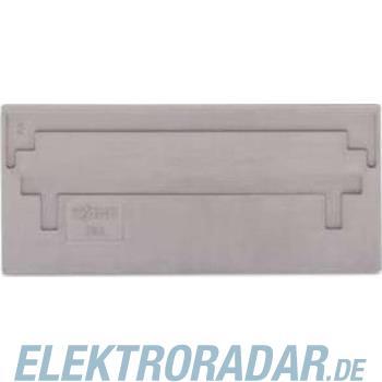 WAGO Kontakttechnik 2-Leiter-FV-Trennwand grau 284-326