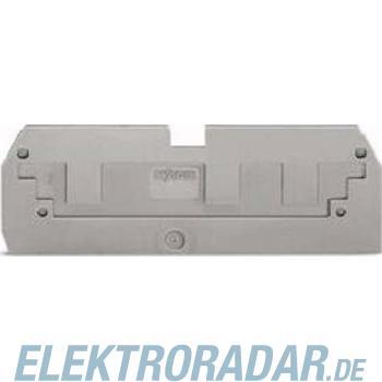 WAGO Kontakttechnik Reduzierabdeckplatte grau 284-358