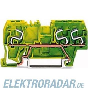 WAGO Kontakttechnik Schutzleiterklemme grün-ge 290-667