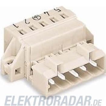 WAGO Kontakttechnik Stiftleiste KZF für 5mm Be 721-604/019-042
