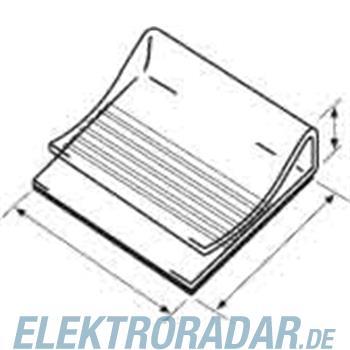HellermannTyton Klebesockel 130100-PVC-WH-D1