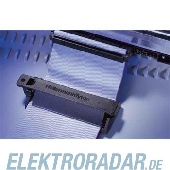 HellermannTyton Flachbandkabelhalter FKH80-HIR-BK-C1