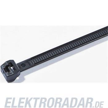 HellermannTyton Kabelbinder außenverzahnt T18ROS-HS-BK-D1