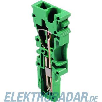 Weidmüller Einzelscheiben Stecker ZP 2.5/1AN GN