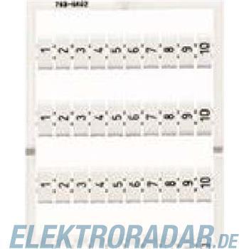 WAGO Kontakttechnik WMB-Bezeichnungssystem 793-4605