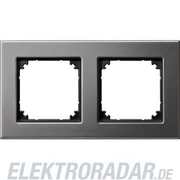 Merten Metallrahmen 2f.rho/gr 475214