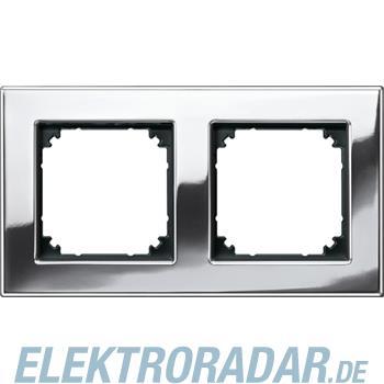 Merten Metallrahmen 2f.chrom 475239