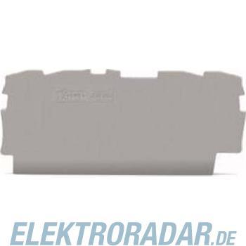 WAGO Kontakttechnik Abschlussplatte 2000-1491