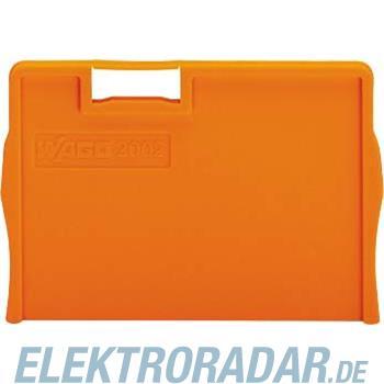 WAGO Kontakttechnik Trennplatte orange 2002-1294
