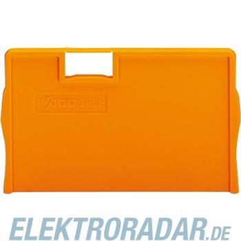 WAGO Kontakttechnik Trennplatte orange 2006-1294
