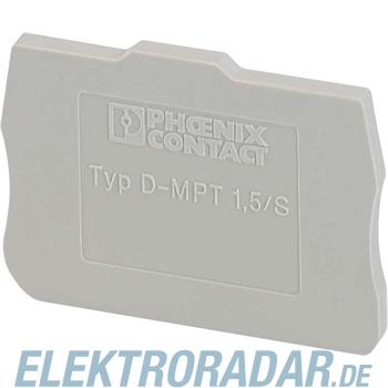 Phoenix Contact Abschlussdeckel D-MPT 1,5/S