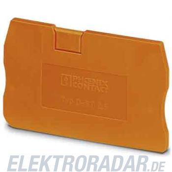 Phoenix Contact Abschlussdeckel D-ST 2,5 OG