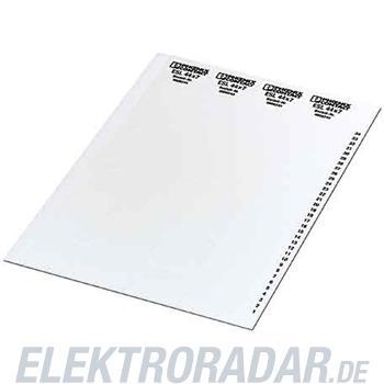Phoenix Contact Gerätemarkierung ESL 20x5
