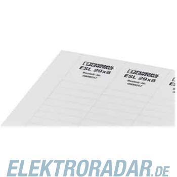 Phoenix Contact Gerätemarkierung ESL 29x8 YE