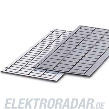 Phoenix Contact Kunststoff-Schilderplatte GPE 60x12 RD-WH