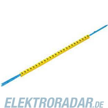 Weidmüller Leitermarkierer CLI R 1-3 BL/SW 6