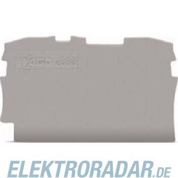 WAGO Kontakttechnik 2L-Abschlussplatte 2000-1291