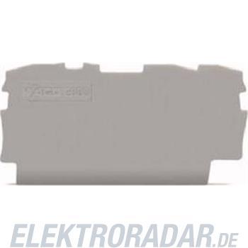 WAGO Kontakttechnik 3L-Abschlussplatte 2000-1391
