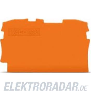 WAGO Kontakttechnik 2L-Abschlussplatte 2000-1292