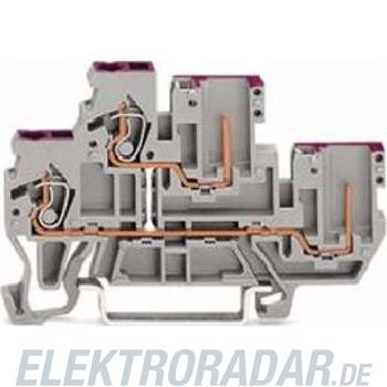 WAGO Kontakttechnik Doppelstock-Basisklemme 870-108
