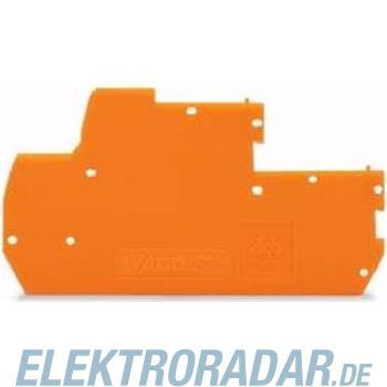WAGO Kontakttechnik Abschlussplatte 870-119