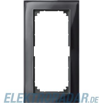 Merten Rahmen Glas 2f.on/sw 487803