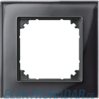 Merten Rahmen Glas 1f.on/sw 489103