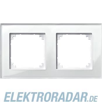 Merten Rahmen Glas 2f.bril/ws 489219
