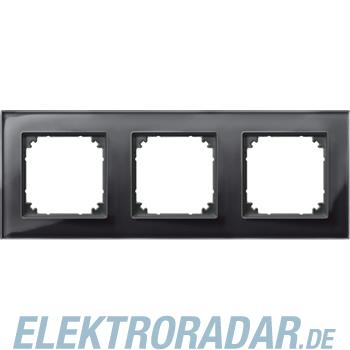 Merten Rahmen Glas 3f.on/sw 489303
