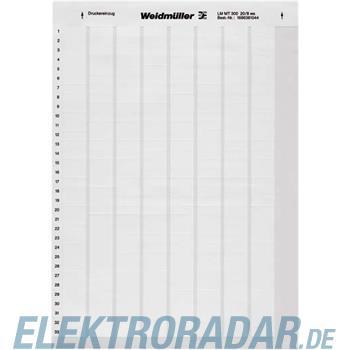 Weidmüller Kabelmarkierer LM MT300 89x34 WS