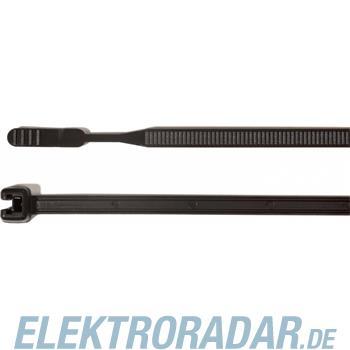 HellermannTyton Kabelbinder 200x3,6 Q30L-HS-BK-C1