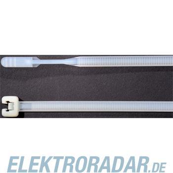 HellermannTyton Kabelbinder 200x3,6 Q30L-PA66-NA-C1