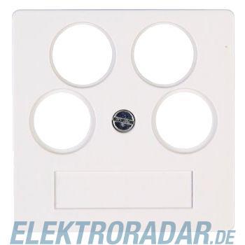 Kopp 4918.2900.3 Abd.f. Antennensteckdose TV/RF/2xSAT, HK07,rw