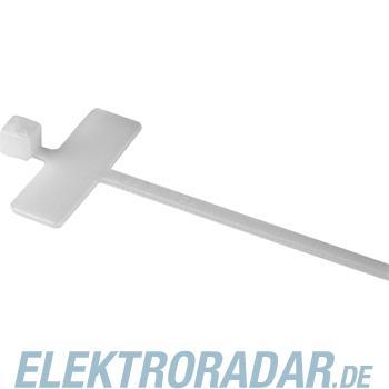 HellermannTyton Kennzeichnungsbinder IT18R-PA66-NA-C1