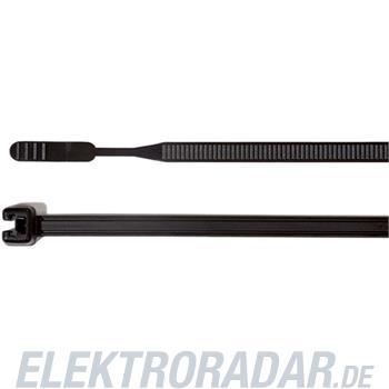 HellermannTyton Kabelbinder Q30L-PA66-BK-C1