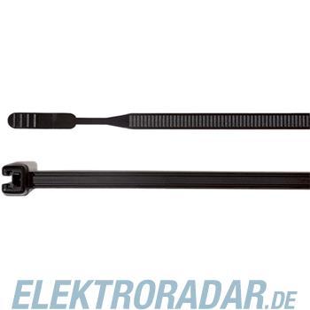 HellermannTyton Kabelbinder Q30R-PA66-BK-C1