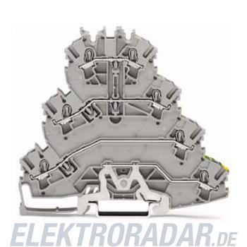 WAGO Kontakttechnik Durchgangsklemme mit PE 2002-4127