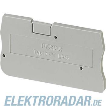Phoenix Contact Abschlussplatte gr D-PIT 1,5/S