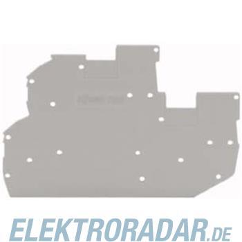 WAGO Kontakttechnik Abschluss-u.Zwischenplatte 2020-2291
